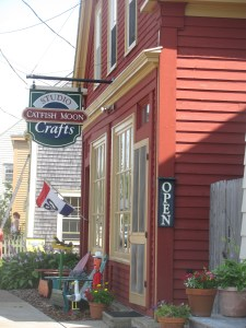 The Cat Fish Moon Folk Art and Craft Shop.