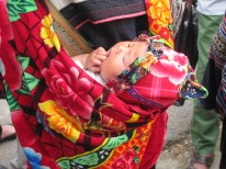 The baby is used to market their wares.
