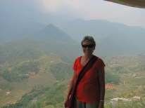 Me with Sapa in the background.