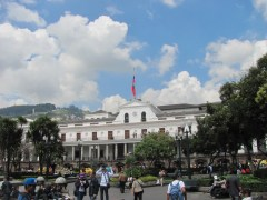 President's quarters in Quito.