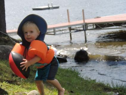 Summer at camp