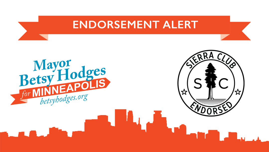 sierra club endorsement