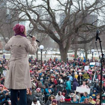 Mayor Betsy Hodges stands up to Trump