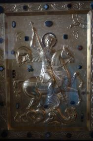 St. Giorgi, the patron saint of Georgia.
