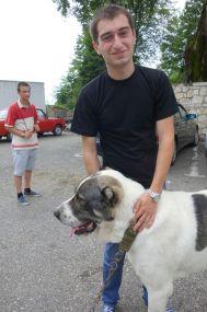 Giorgi with Luga.