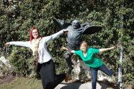 Fun in Tbilisi (with Jessica).