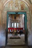 Inside Gelati Church outside of Kutaisi.