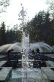 Fountains at a park in Tskaltubo.