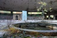 Ruins of a bath house in Tskaltubo.