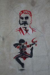 Kutaisi graffiti.