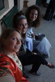 Me, Merissa, and Rachel. Rachel and Merissa will be leaving in July.