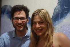 Chase and Ellen, part of the Kutaisi crew. Chase left at the end of May and Ellen leaves in July.