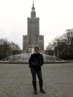 The Stalin Palace in Warsaw.