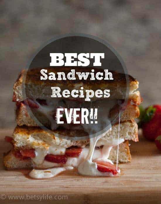 Greatest Sandwich Recipes Ever!!