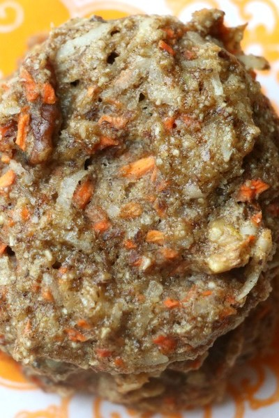 Carrot Cake Breakfast Cookies {Gluten Free, Dairy Free}