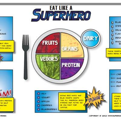Get Your Kids to POWer Up With This Superhero Lunchbox