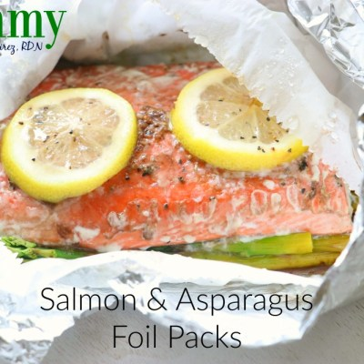 Salmon and Asparagus Foil Packs