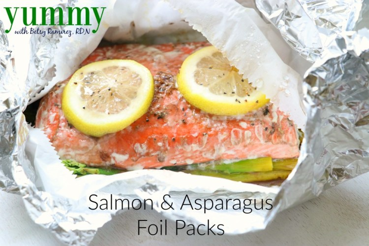 Salmon and Asparagus Foil Packs
