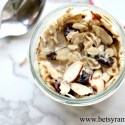 Overnight Cherry Almond Muesli