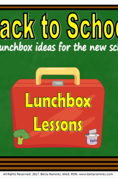 Lunchbox Lessons: How to Pack Healthy Lunches