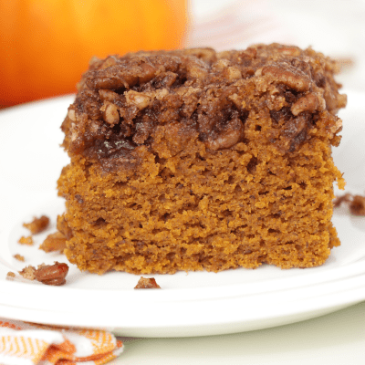 Pumpkin Spice Coffee Cake – 2 Ways