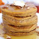Pumpkin Pancakes {Gluten Free / Dairy Free}