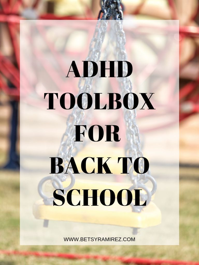 ADHD BACK TO SCHOOL