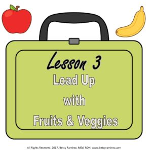 Lesson 3 Fruits and Vegetables