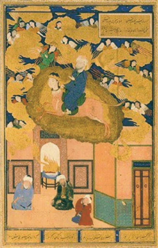 The Night Flight of Mohammed on his Steed Buraq
