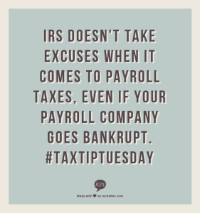 recite-payroll bankrupt