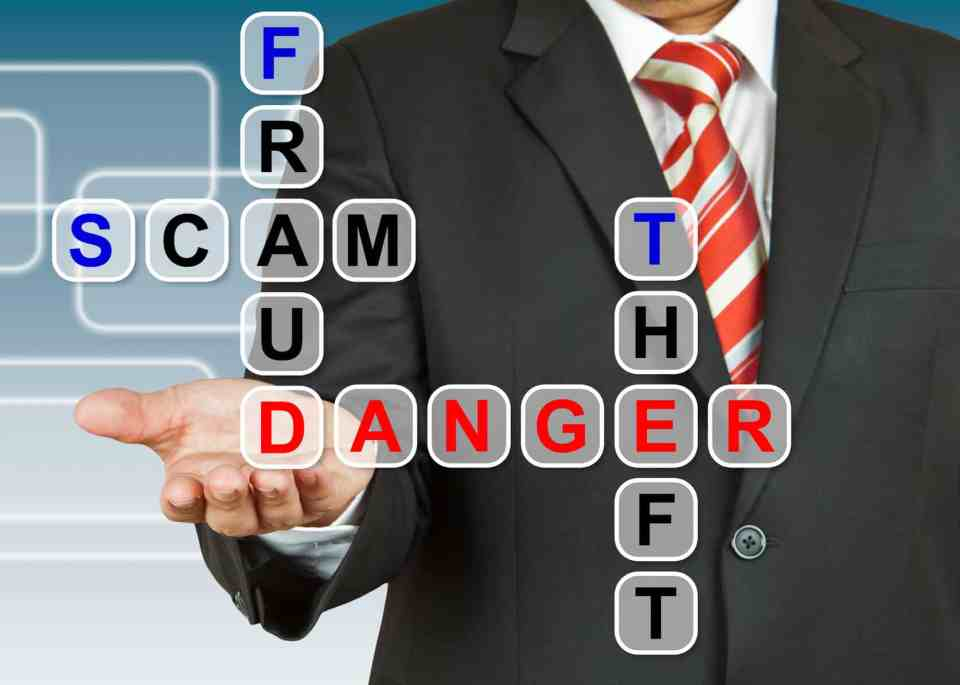 fraud scam and theft