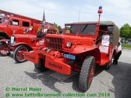 Feuerwehrauto Treffen Luzern 2018