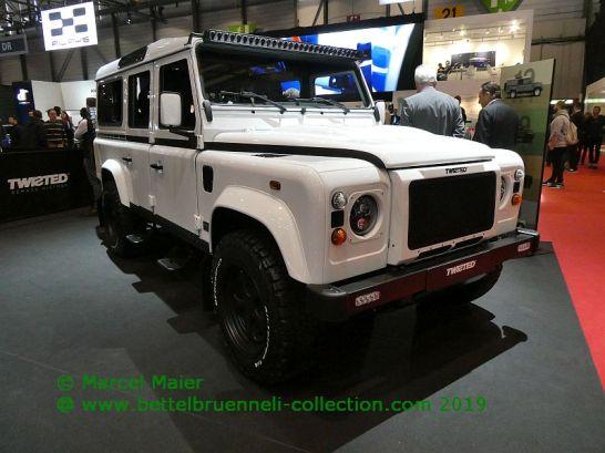 Twisted Land Rover Defender