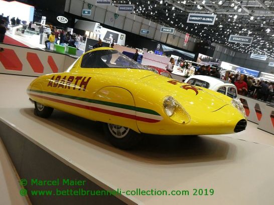 Abarth 500 Record Piinfarina 1958