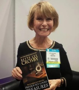 Betty Crosby at BEA with Previously Loved Treasures