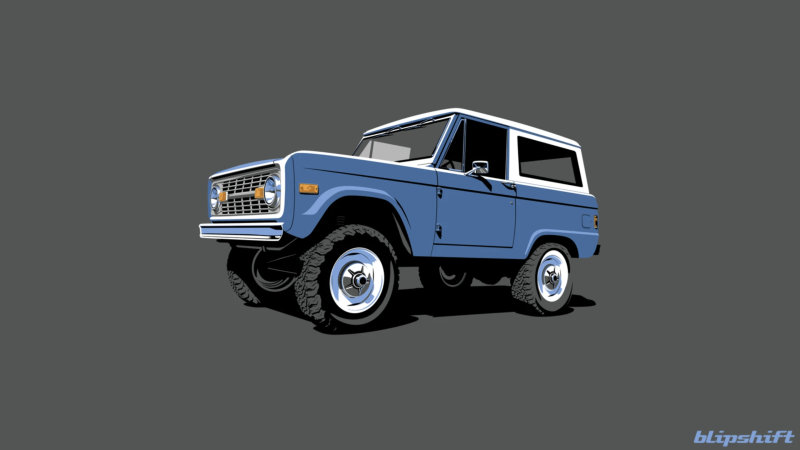 This Bronco t-shirt will show your Best Bro off to the world