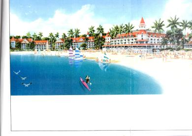 Royal Reef hotel and beach