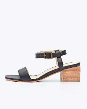 Spring Fashion: Nisolo block heel sandal