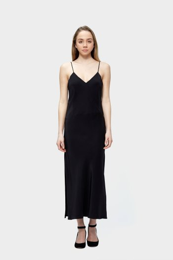 Spring Fashion: Siizu silk slip dress
