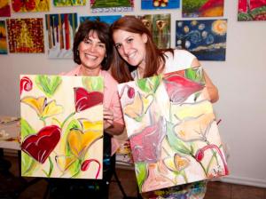 The Paint Bar owner Jill Kerner Schon
