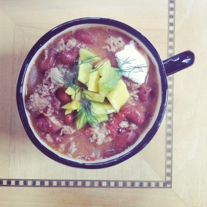 Turkey Chili Recipe - foodie corner