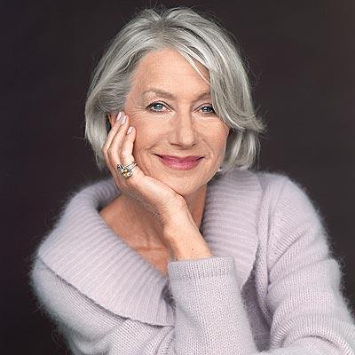 Helen Mirren's Hair | Flattering Haircuts For Older Women | Makeup Tutorials