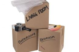 Organizing to Move - Moving Boxes