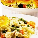 Skinny Kitchen Chicken Pot Pie