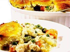 Skinny Kitchen Chicken Pot Pie