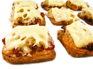 reuben appetizers for Thanksgiving