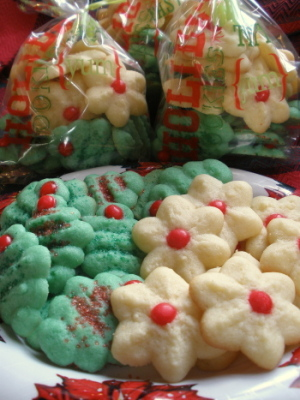 Grandma's Briefs Spritz Christmas Cookies