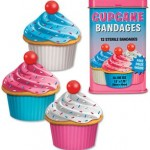 bandages shaped like cupcakes