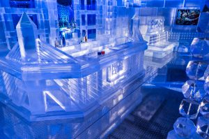 FROST ICE BAR is quite literally the coolest and most unique bar in Boston!