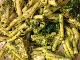 Kale Pesto healthy dishes January Foodie Corner